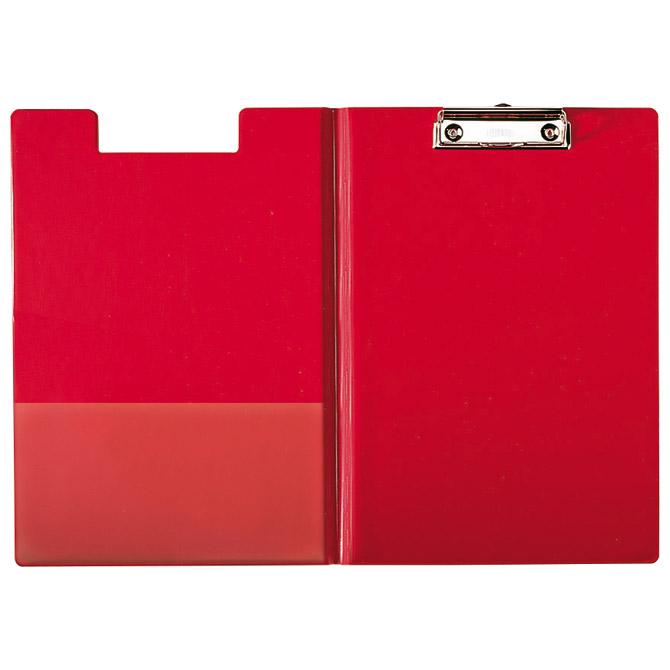 Ploča klip s preklopom+kvačica A4 pp Esselte 56043 crvena