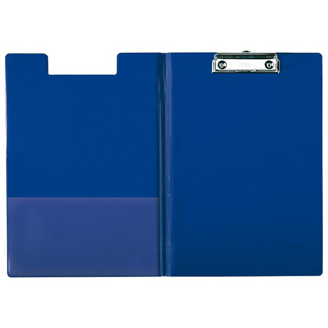 Ploča klip s preklopom+kvačica A4 pp Esselte 56045 plava