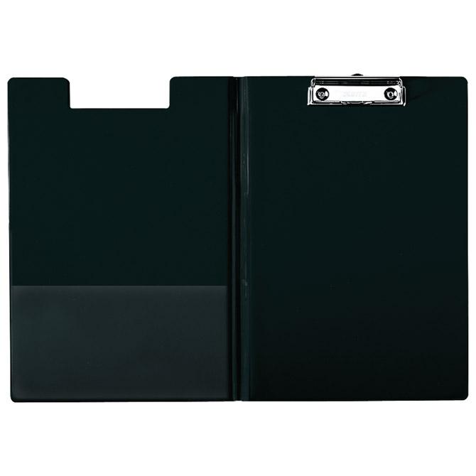 Ploča klip s preklopom+kvačica A4 pp Esselte 56047 crna