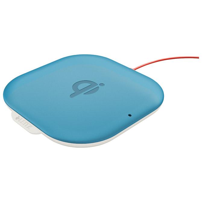 Punjač za mobilne uređaje bežični Cosy QI Leitz 64790061 plavi