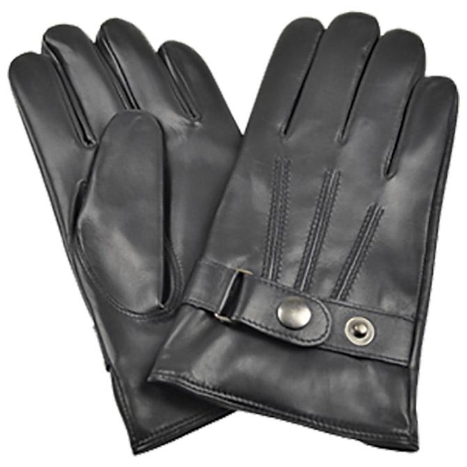 Rukavice kožne muške Galko 71-0076-R01 crne 2XL