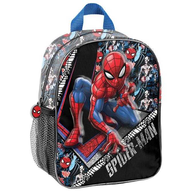 Ruksak vrtićki 3D Spiderman SPW-503 crno/crveni