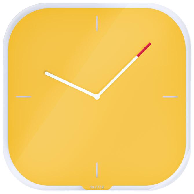 Sat zidni 30x30cm Cosy Leitz 90170019 žuti