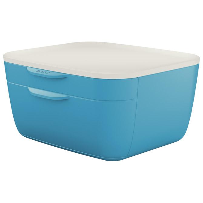 Kutija s  2 ladice Cosy Leitz 53570061 plava/bijela