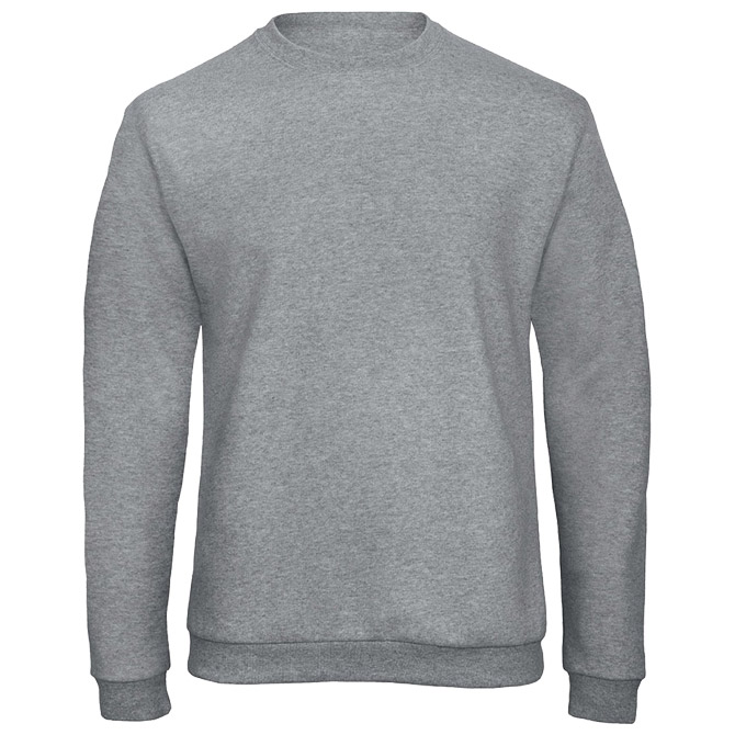 Majica dugi rukavi B&C ID.202 270g svijetlo siva L!!