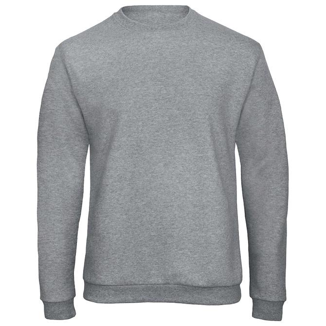 Majica dugi rukavi B&C ID.202 270g svijetlo siva XL!!