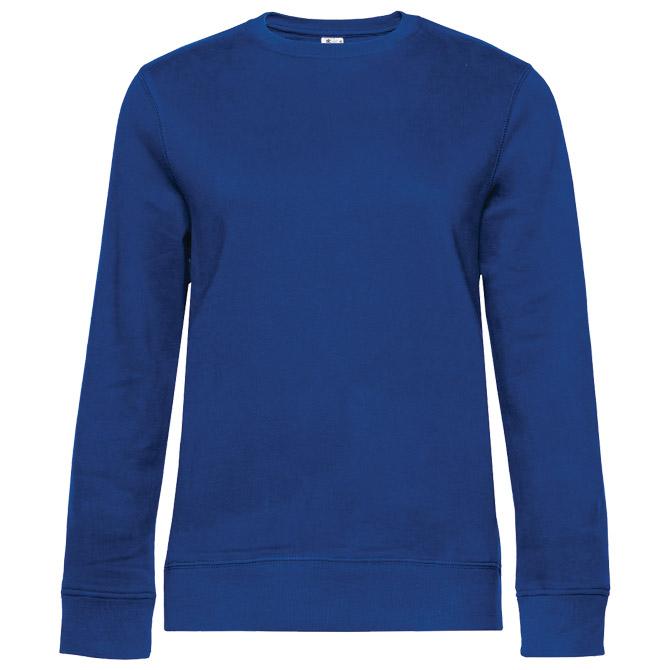 Majica dugi rukavi B&C Queen Crew Neck 280g zagrebačko plava L!!