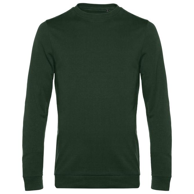 Majica dugi rukavi B&C #Set In 280g tamno zelena S