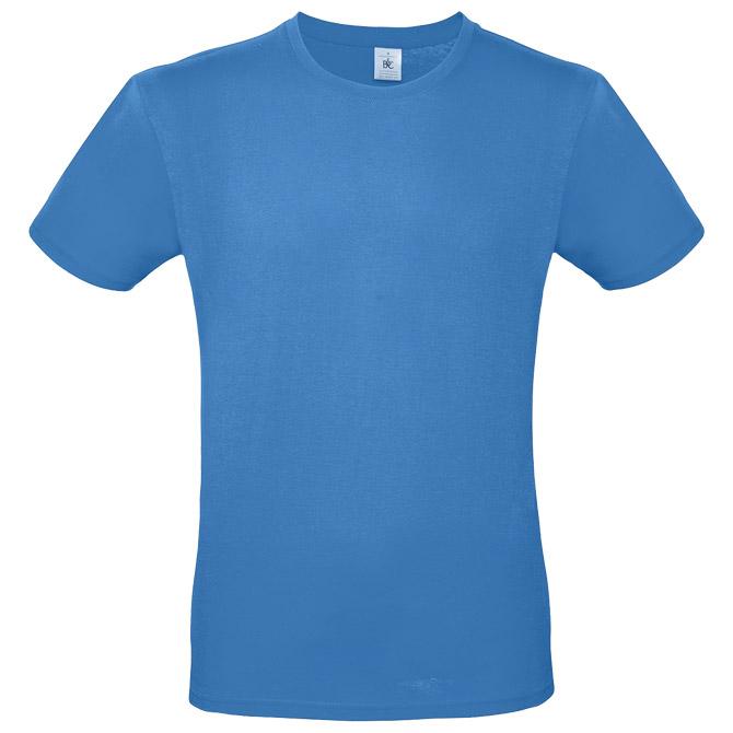 Majica kratki rukavi B&C #E150 azur plava L!!