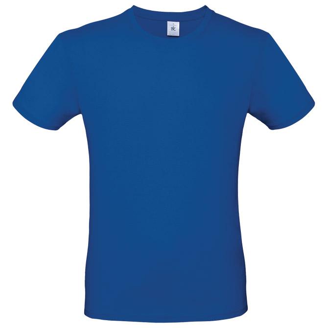 Majica kratki rukavi B&C #E190 zagrebačko plava 3XL