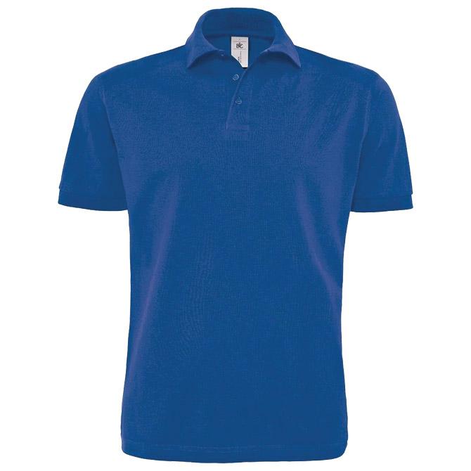 Majica kratki rukavi polo B&C Heavymill 230g zagrebačko plava L!!