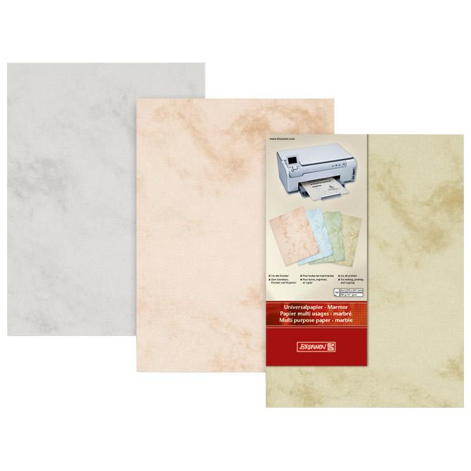 Papir ILK Marmor A4 120g pk35 Brunnen 10-51411 11 šamoa