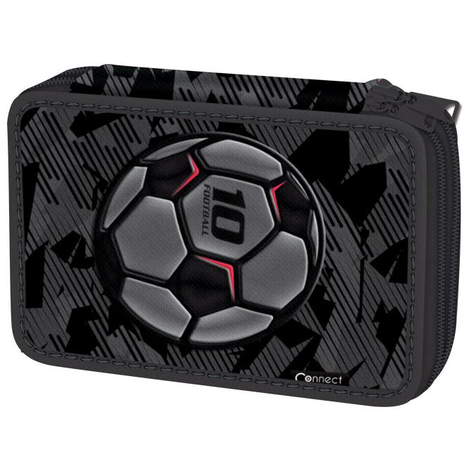 Pernica puna 2zipa Football Team Connect crno-sivo-crvena!!