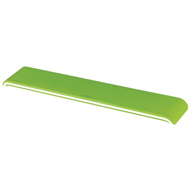 Podloga za ruke uz tipkovnicu Ergo Wow Leitz 65230054 zelena/bijela