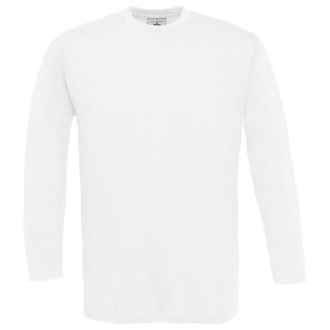 Majica dugi rukavi B&C Exact 150 LSL bijela M!!