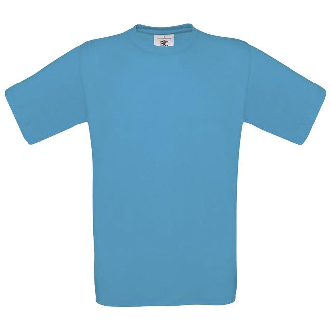 Majica kratki rukavi B&C Exact 150 atol plava M!!