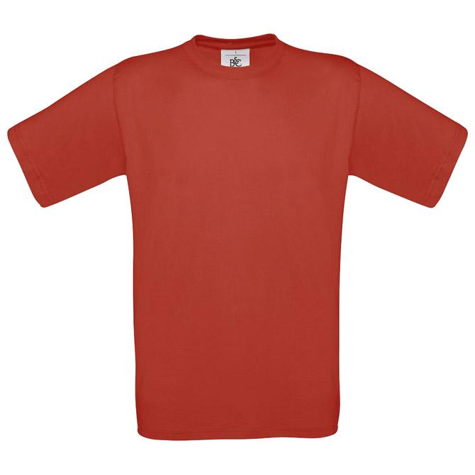 Majica kratki rukavi B&C Exact 150 crvena 2XL!!