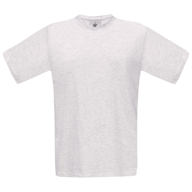 Majica kratki rukavi B&C Exact 150 pepeljasto siva S!!
