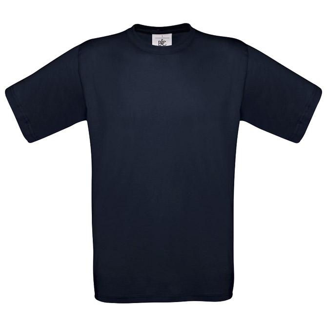 Majica kratki rukavi B&C Exact 150 tamno plava S!!