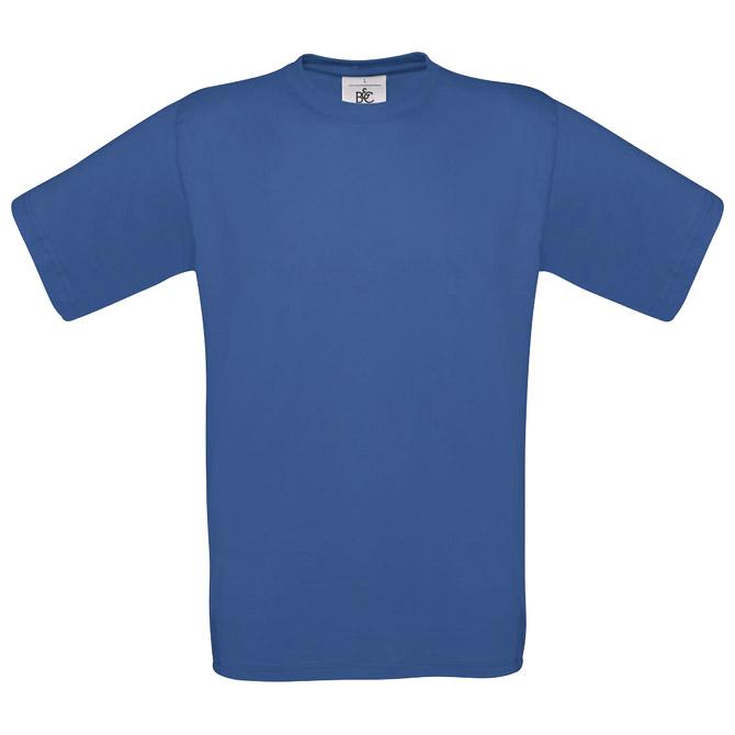 Majica kratki rukavi B&C Exact 150 zagrebačko plava S!!