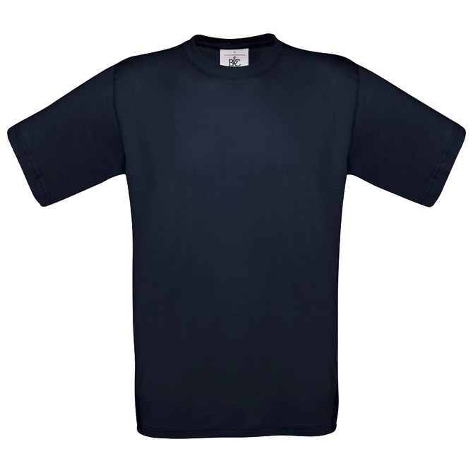 Majica kratki rukavi B&C Exact 190 tamno plava S!!