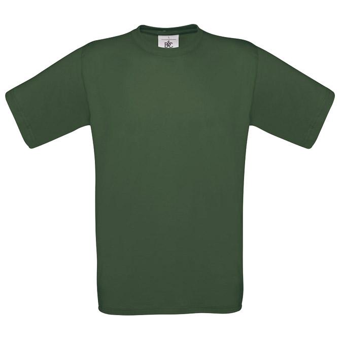 Majica kratki rukavi B&C Exact 190 tamno zelena S!!