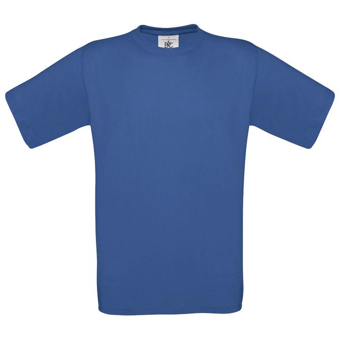 Majica kratki rukavi B&C Exact 190 zagrebačko plava 2XL!!