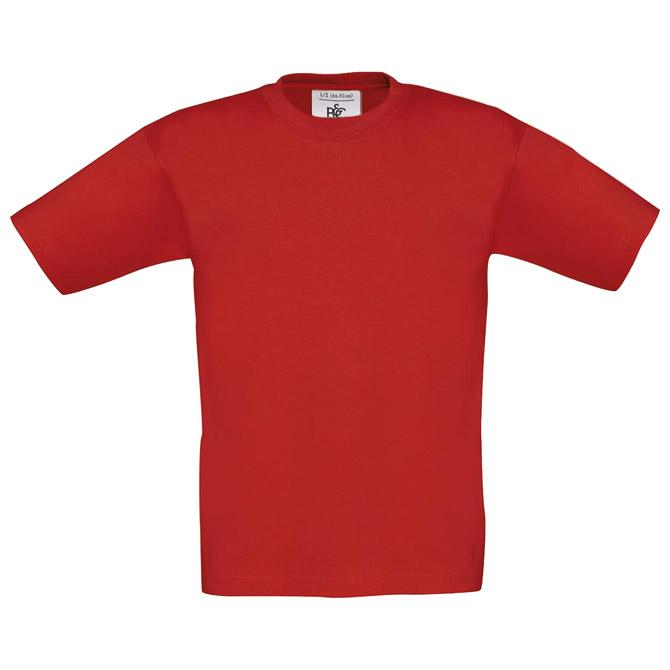 Majica kratki rukavi B&C Exact Kids 150 crvena 1/2