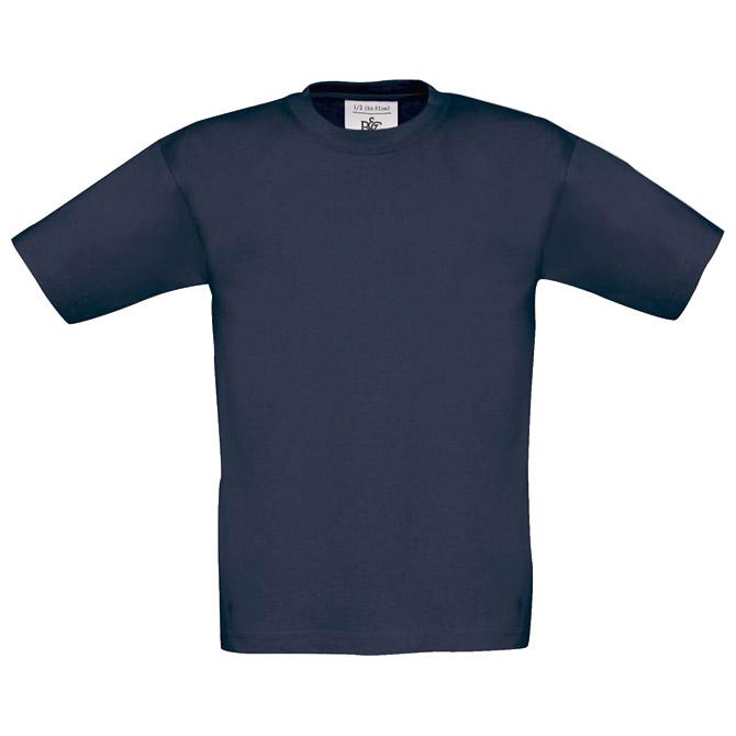 Majica kratki rukavi B&C Exact Kids 150 tamno plava 12/14