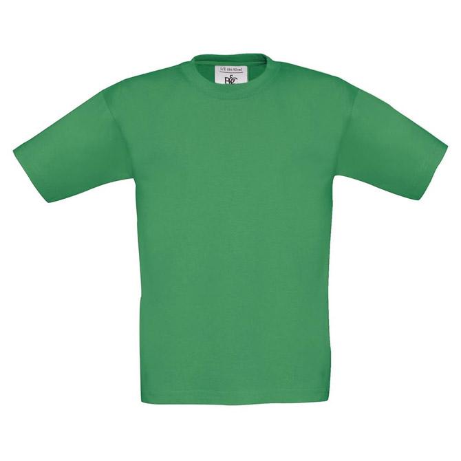 Majica kratki rukavi B&C Exact Kids 150 trava zelena 7/8