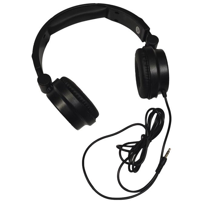 Slušalice složive crne