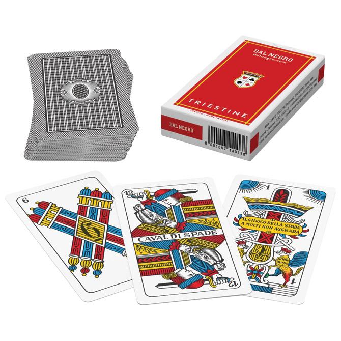 Karte igraće Triestine - Dal Negro