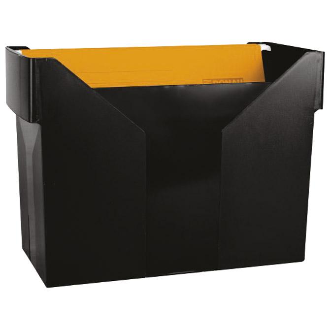 Kutija za mape viseće+5mapa Donau 7422001PL-01 crna