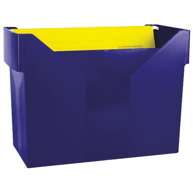Kutija za mape viseće+5mapa Donau 7422001PL-18 plava