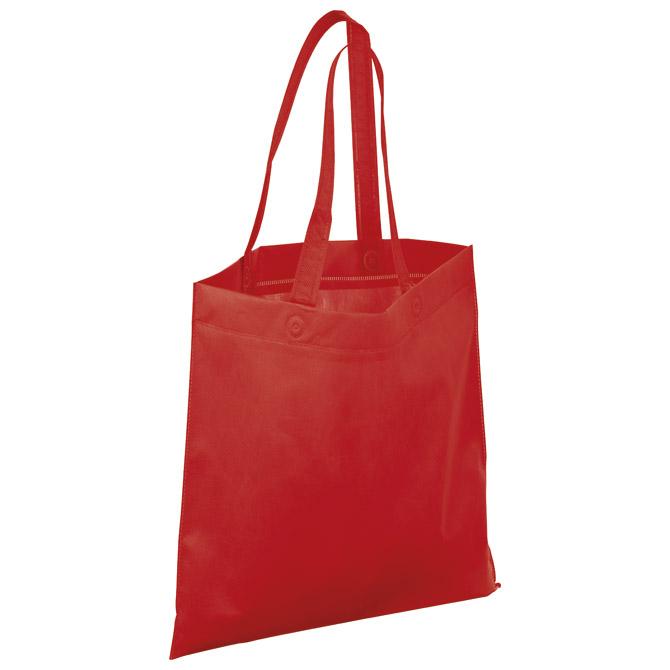 Vrećice za kupovinu pp 38x42cm Nivala crvene