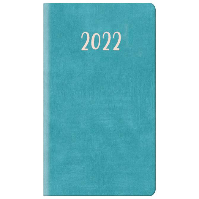 Planer džepni 8x14 Wall 367 tirkizno plavi