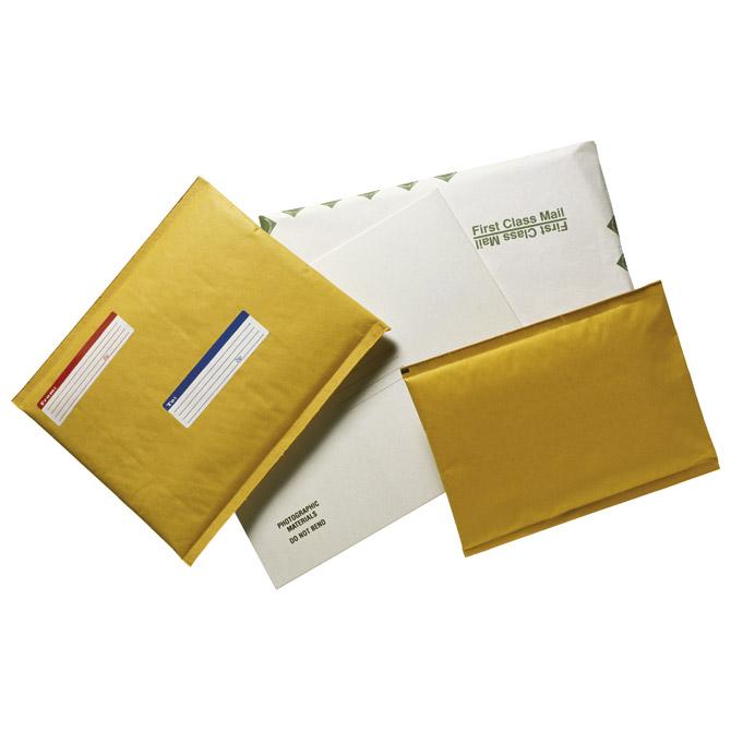"Kuverte sa zračnim jastukom 14x23/12x21cm ""B"" pk10 Fornax žute"