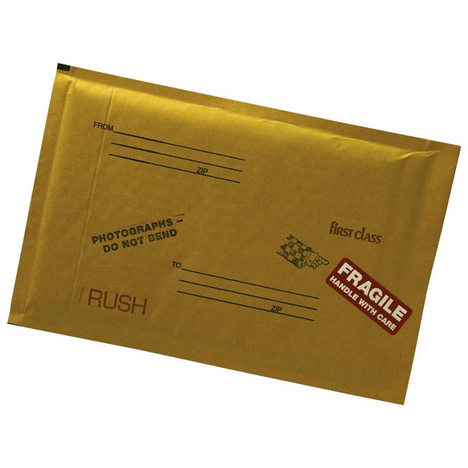 """Kuverte sa zračnim jastukom 20x28/18x26cm """"D"""" pk10 Fornax žute"""