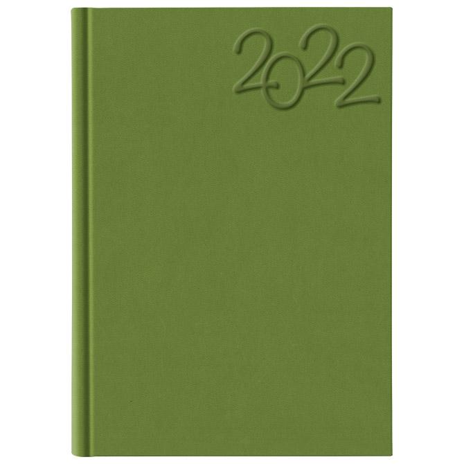 Rokovnik A5 Rhapsody 7104 pistacio zeleni